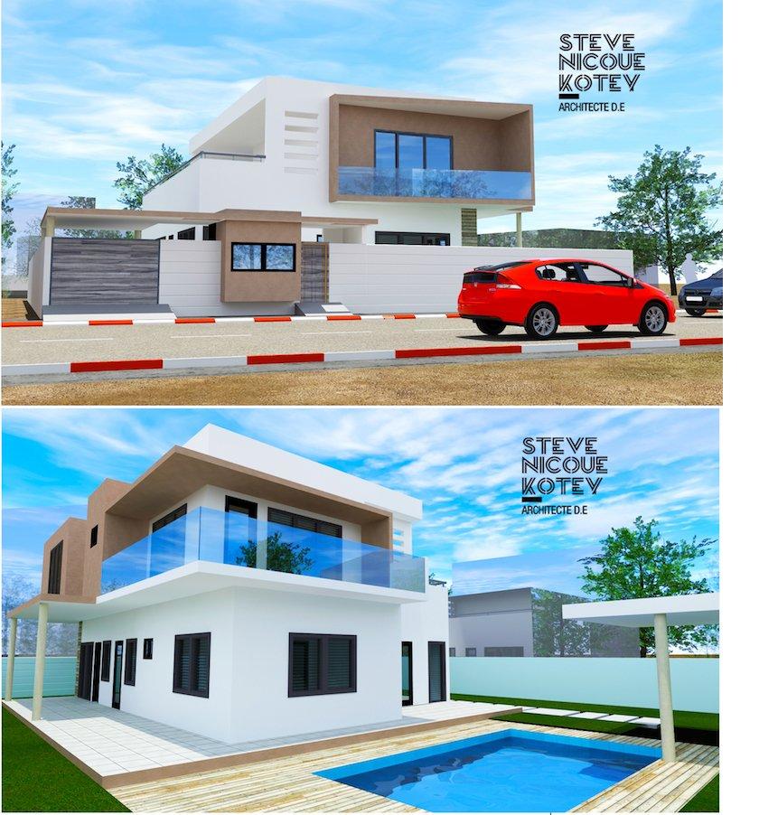 REFERENCE - Faisabilité - Construction d'une villa individuelle